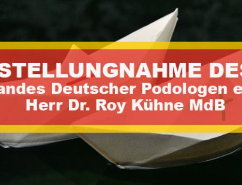 Herr Dr. Roy Kühne MdB uns dazu aufgerufen, zu dem Eckpunktepapier Stellung zu nehmen