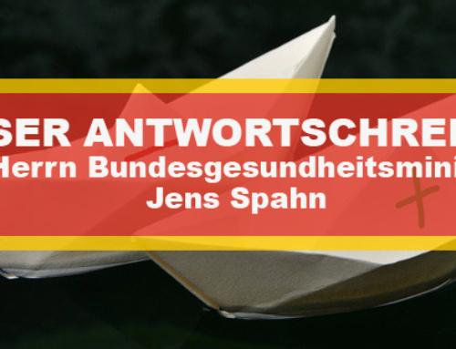 VDP-Schreiben an Bundesgesundheitsminister Jens Spahn