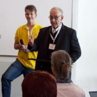 Volker Pfersich BSc (rechts) als 1. Bundesvorstand wurde im Rahmen der 16. QuaKo für seine 20jährige Tätigkeit und seine Verdienste im VDP geehrt